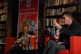 2012 Carol Birch and Paul French discuss her novel Jamrach's Menagerie