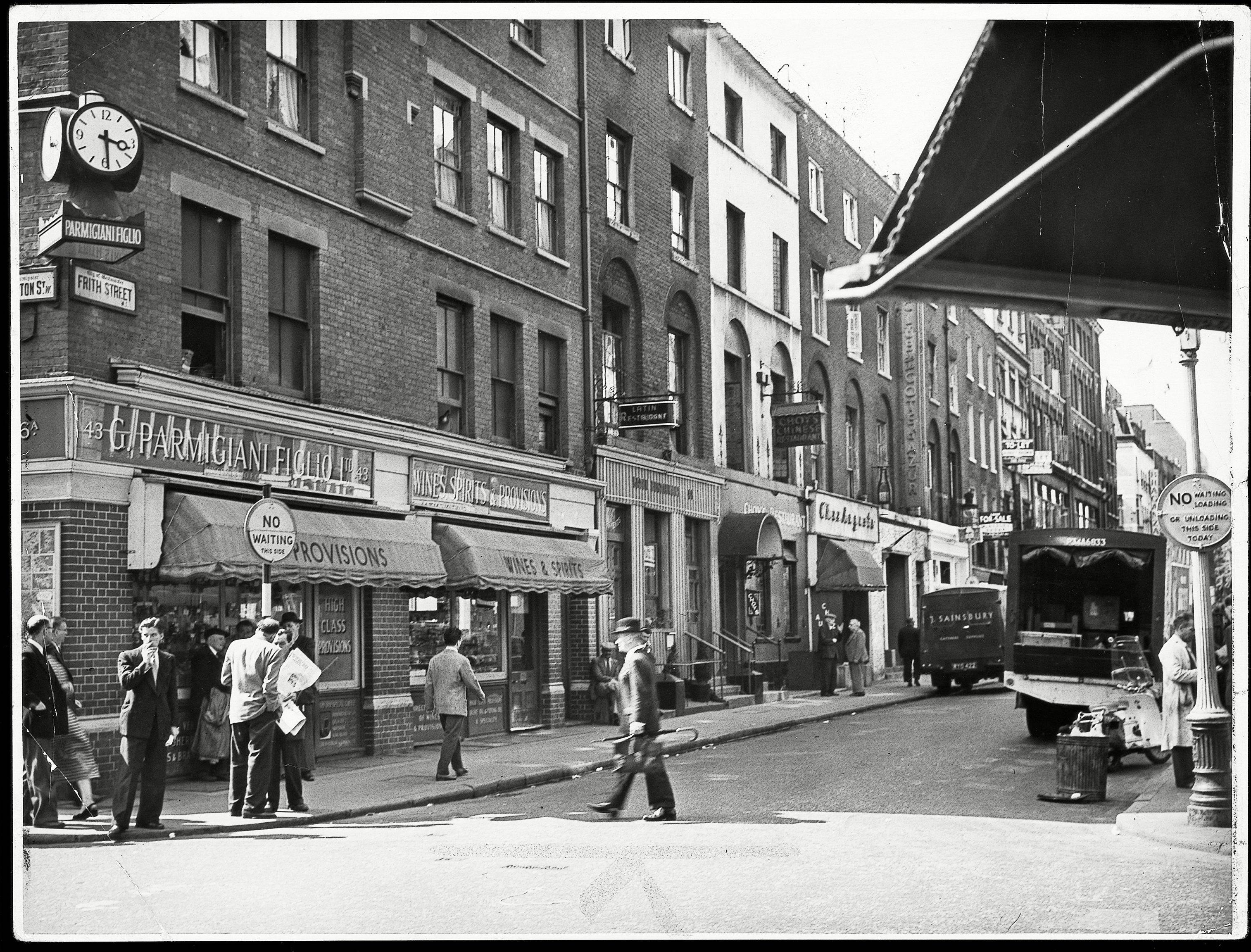 Frith Street London Restaurants