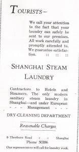 Shanghai Steam Laundry - Thorburn Rd - 1930