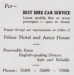 Best Hire Car Service - 1930