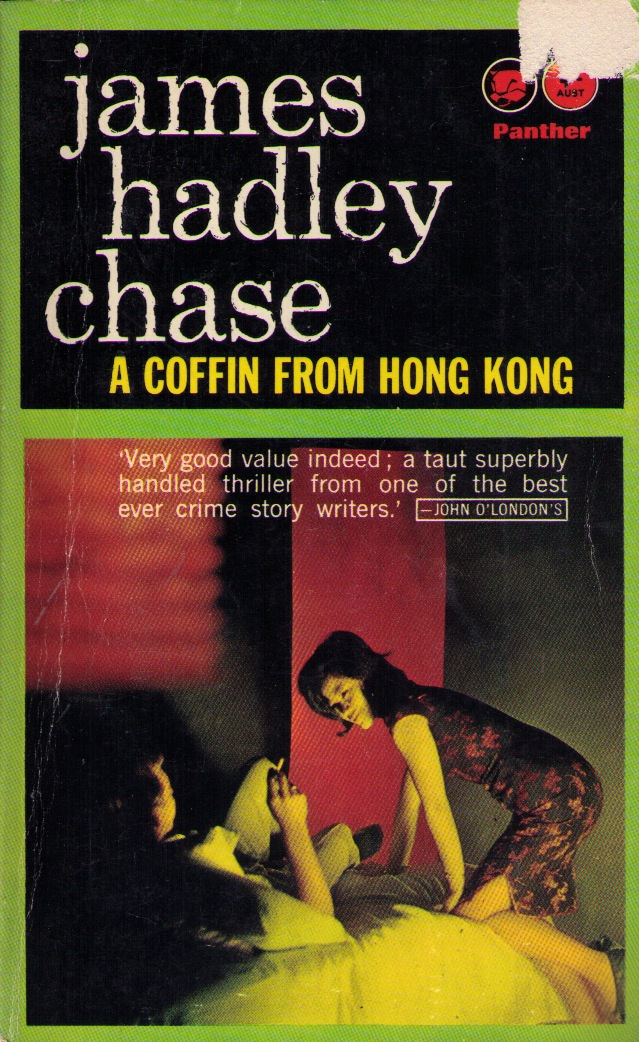 Book Review: A Coffin from Hong Kong by James Hadley Chase